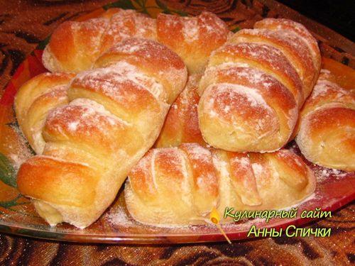 Сдобные булочки с заварным кремом - Простые рецепты Овкусе.ру