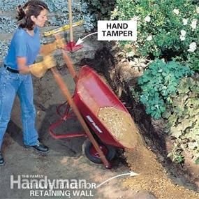 How to Build a Stone Path - Step by Step: The Family Handyman