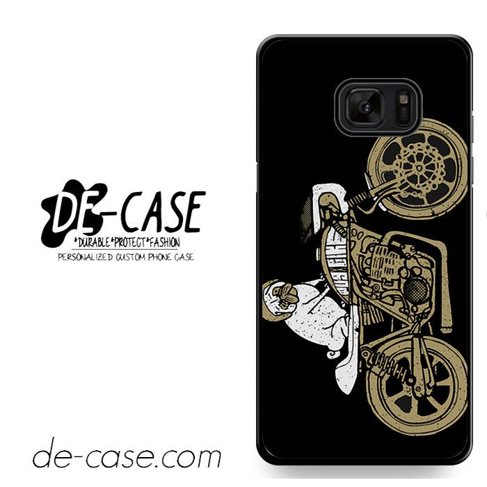 Pugs Ride A Bike DEAL-8969 Samsung Phonecase Cover For Samsung Galaxy Note 7