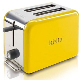 DeLonghi kMix Yellow Toaster