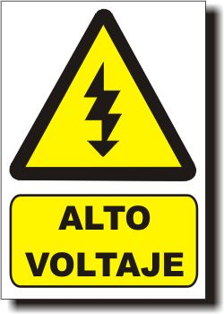 It is the best picture because it shows that the voltage can be dangerous.