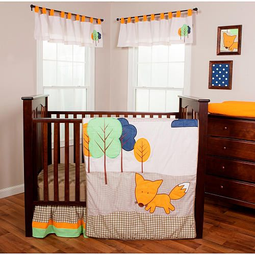 "Trend Lab Friendly Fox 3 Piece Crib Bedding Set - Trend Lab  - Babies""R""Us"
