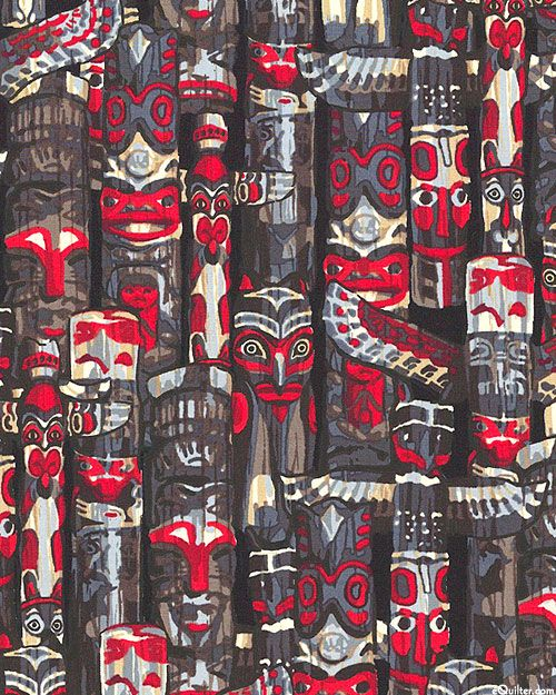 Totem - Pacific Northwest Spirit - Charcoal Gray