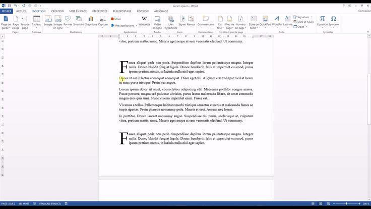 Tutoriel vidéo pour apprendre à créer une lettrine sur Word. Comment créer une lettre plus grosse que le reste du texte Word ? Comment supprimer une lettrine sur Word ? Comment augmenter la taille de la lettrine Word ? Pour accéder à la version texte de ce tutoriel, rendez-vous sur Votre Assistante : https://www.votreassistante.net/creer-lettrine-word