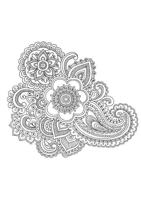 53 Best Coloring Mandalas Images On Pinterest