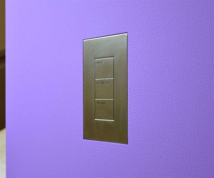 Wall-Smart for Lutron Palladiom US Metal