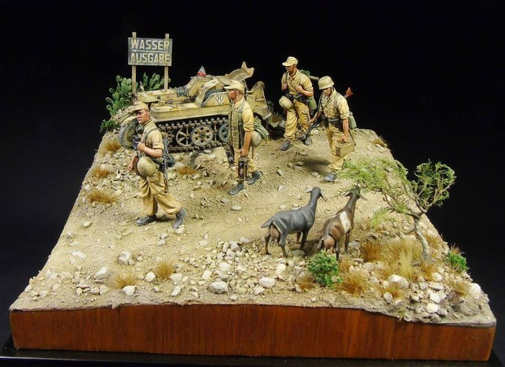 The best military diorama's and vehicles on Pinterest | Dioramas ...