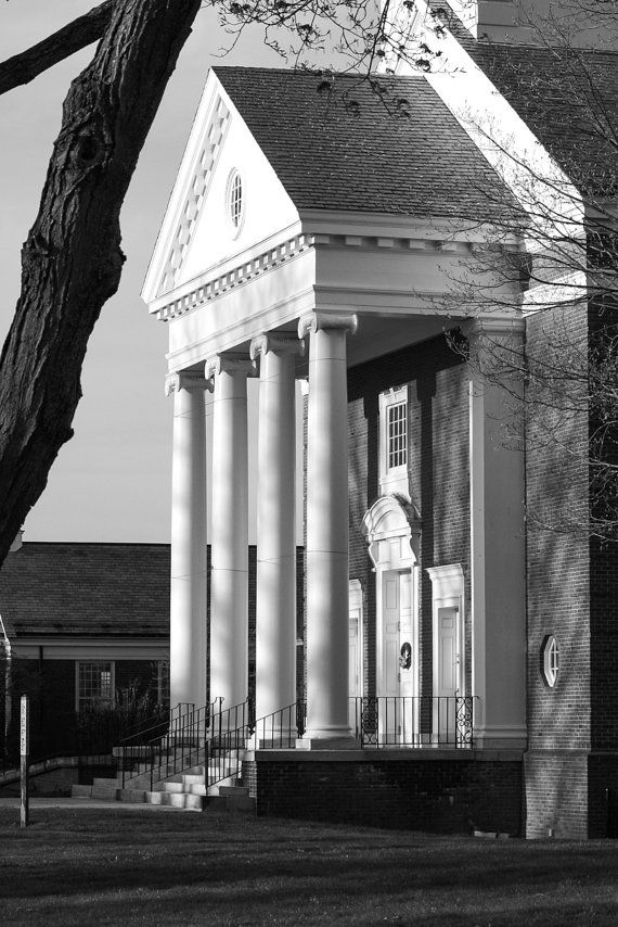 West Hartford Town Center First Church of West by TheBlueTwig