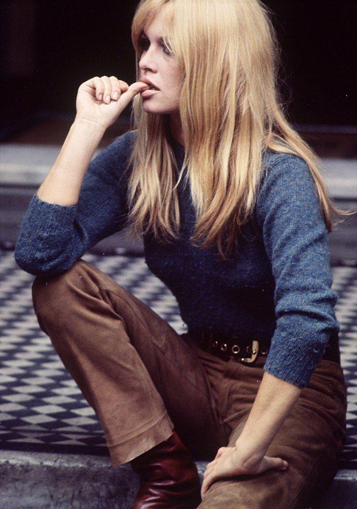 "Brigitte Bardot, on the set of ""A Coeur Joie"" 1961"