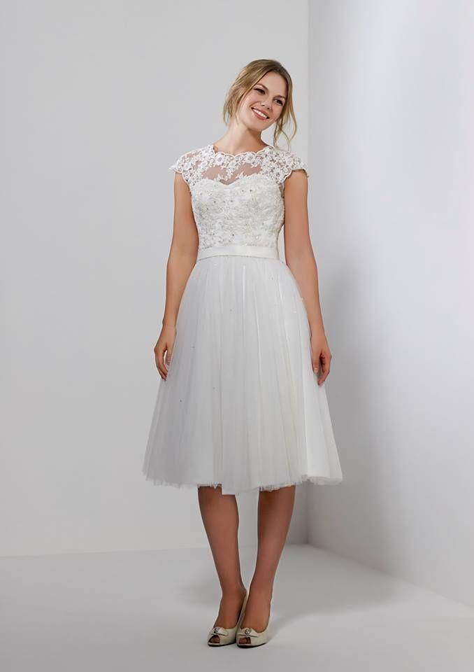 88 best Romantica of Devon images on Pinterest   Short wedding gowns ...