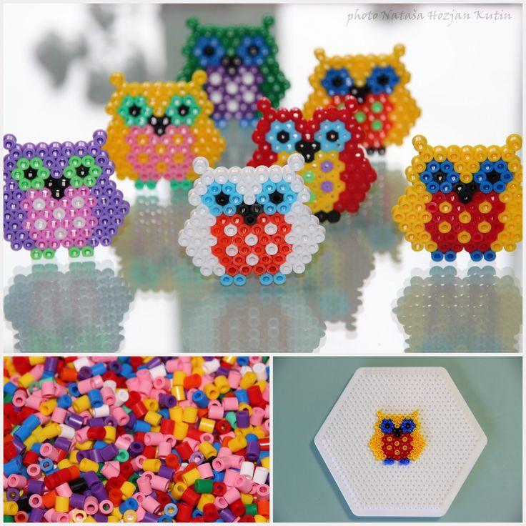 Hama beads - owls