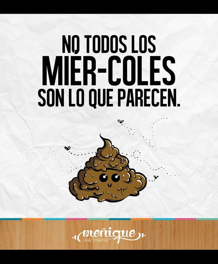 No todos los miér-coles son lo que parecen. Meñique Casa Creativa #somosmenique #miercoles #happy #CreativosColombia #NoTodoEsLoQueParece