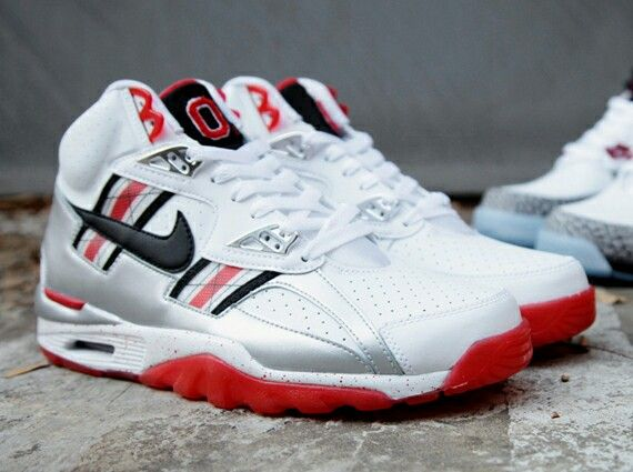 #nike SC High #ohiostate #ohio #buckeyes #shoes #sneakers #football #basketball