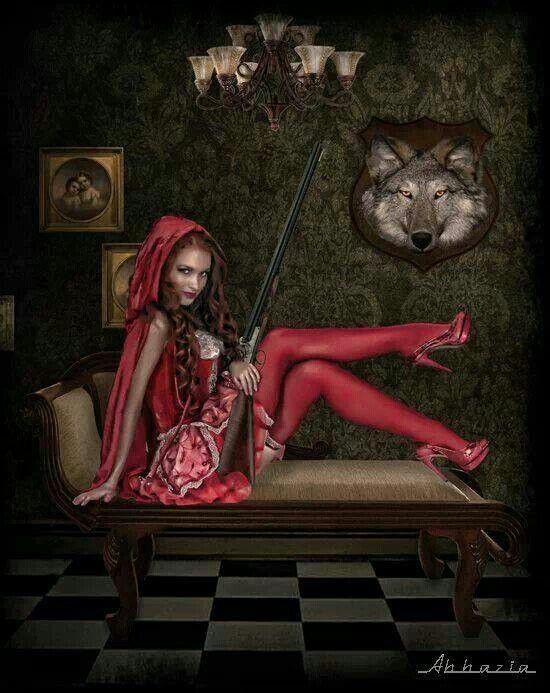Little Evil Red Riding Hood