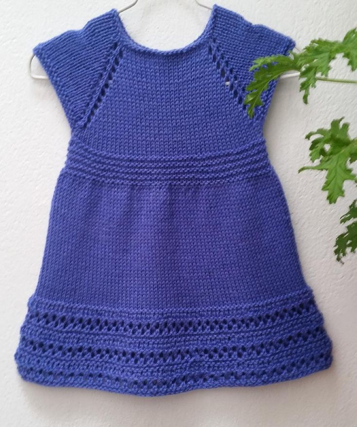 Free Knitting Patterns For Girls Dresses : 171 best images about Baby dresses on Pinterest Free pattern, Ravelry and T...