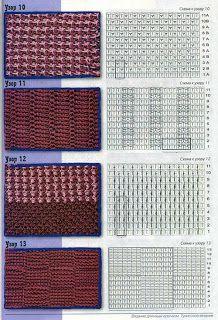 Crochet wonder of art: crochet Tunisian Points