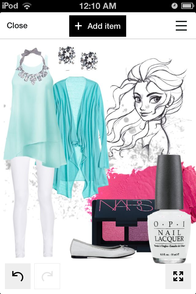 Elsa outfit created by me