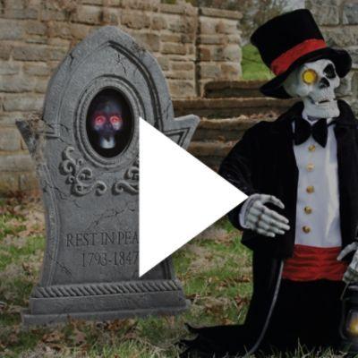 Motion Sensor Halloween Decorations