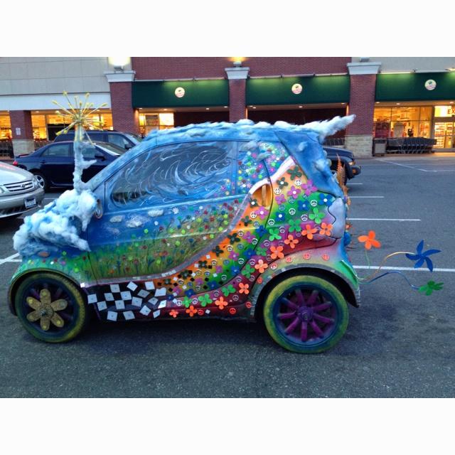 Smart car gone wild!