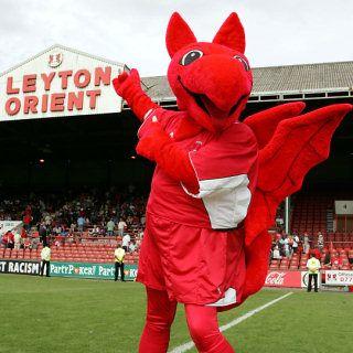 Leyton Orient - Theo the Wyvern.