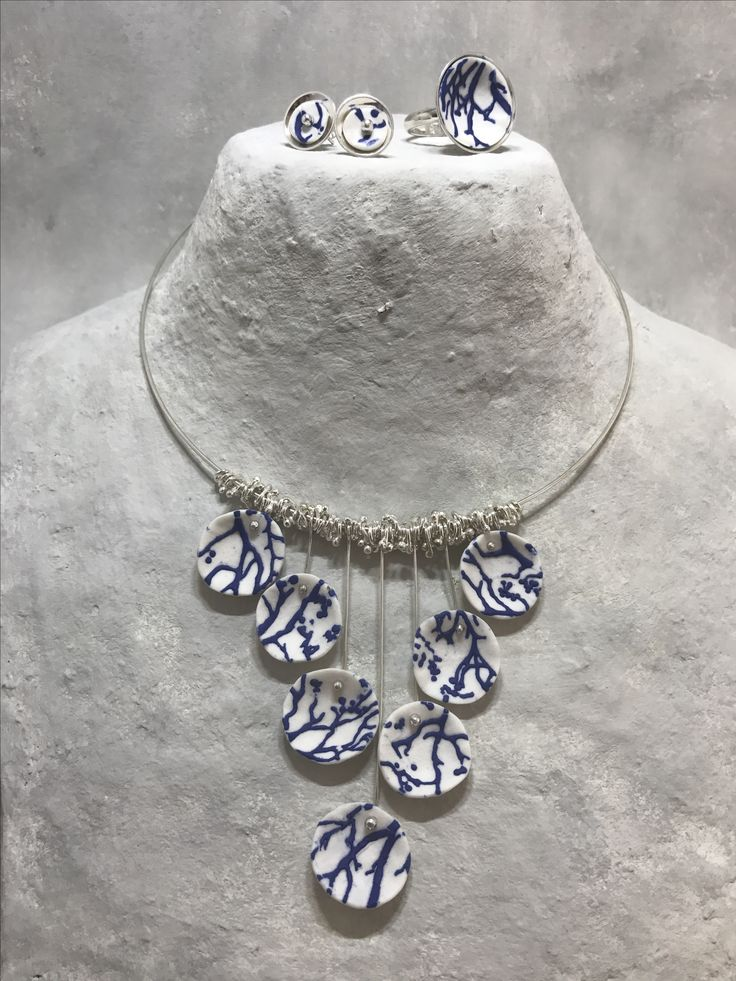 porcelain and silver