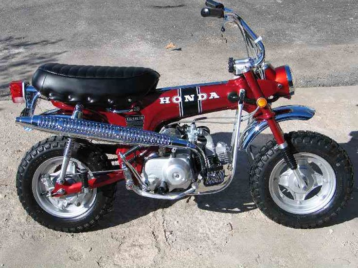 Honda Trail 70.  I had a green one.  I loved this little bike.