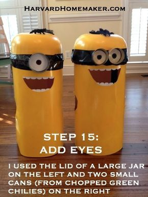Easy No-Sew DIY Minion Costumes - Harvard Homemaker