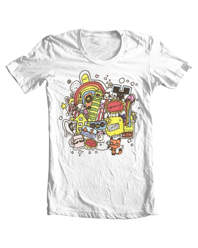 Scott's design for a Threadless T-Shirt - please go and vote for it if you like it :-)