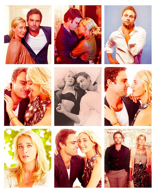 Offspring - Nina and Patrick (Asher Keddie and Matt Le Nevez) - Good old days ...best days;)