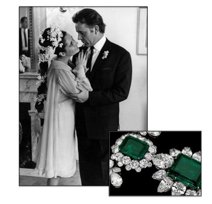 Elizabeth Taylor 39 S Engagement Ring For Her 2nd Wedding To Richard
