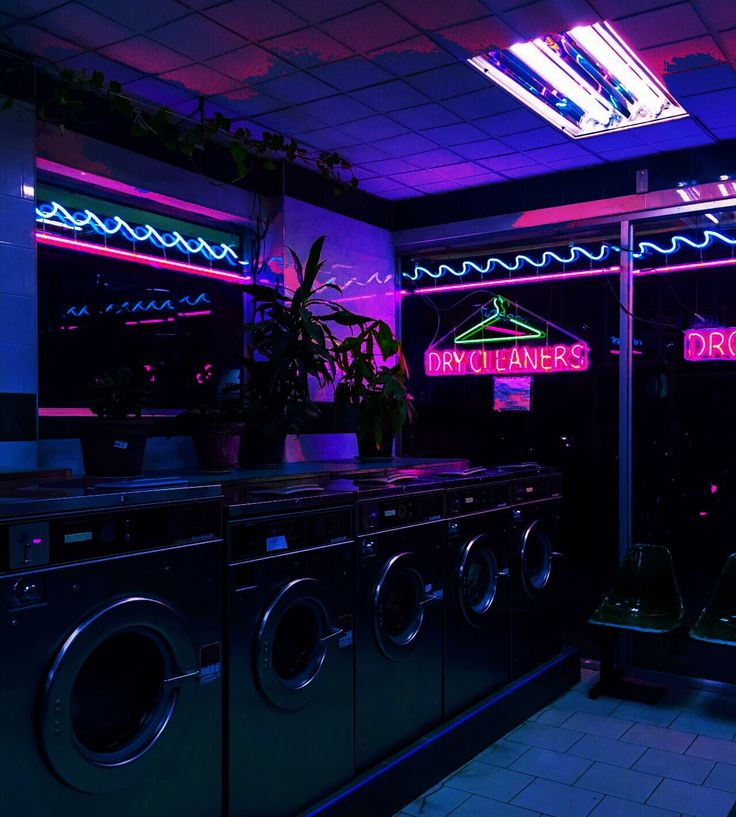 You have to do laundry sometime. This just happens to be a shady laundromat.