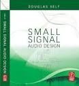 Small signal audio design. This book deals with small-signal audio design: the amplification and control of audio in the analog domain, where the clever stuff is done with op-amps or discrete transistors, usually working at a nominal level of a volt or less. 'Small-signal design' is the opposite term to the large-signal technology used in power amplifiers, welding gear, and the electricity distribution grid.