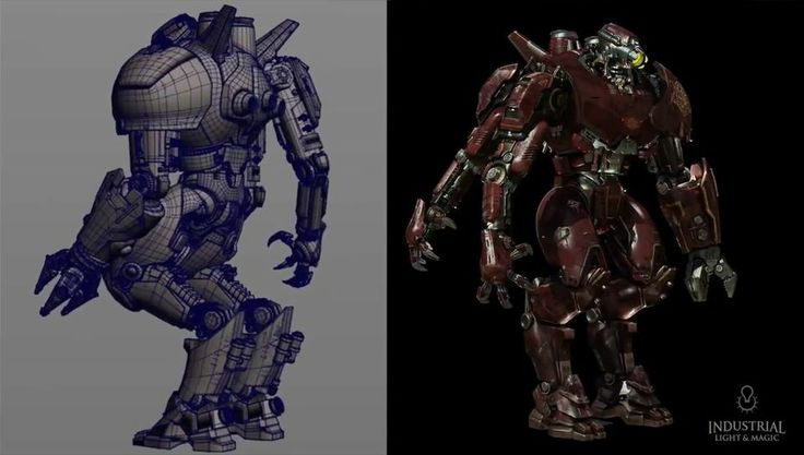 Making Of Jaegers For Pacific Rim By Ilm Animation