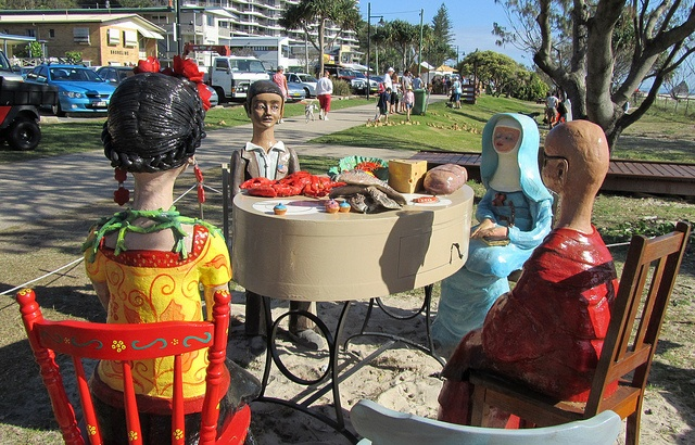 The Second Last Supper by Monte Lupo Group by JIGGS IMAGES, via Flickr  #swell2012  www.swellsculpture.com.au
