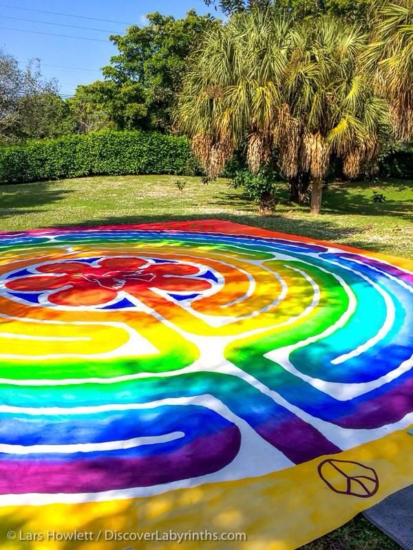 Click To Discover The Meaning Of Your Life-Number, The Peace Labyrinth that was offered to walk during the Labyrinth Society Annual Gathering