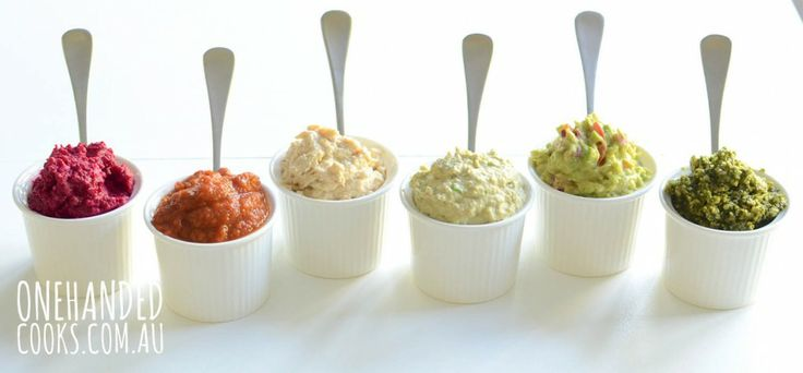 Here are some great healthy dip recipes for kids... and adults!  My favorite is the Green Hummus!  Enjoy!