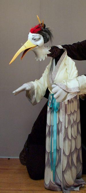 Fantastic puppet by Puppet Heap.