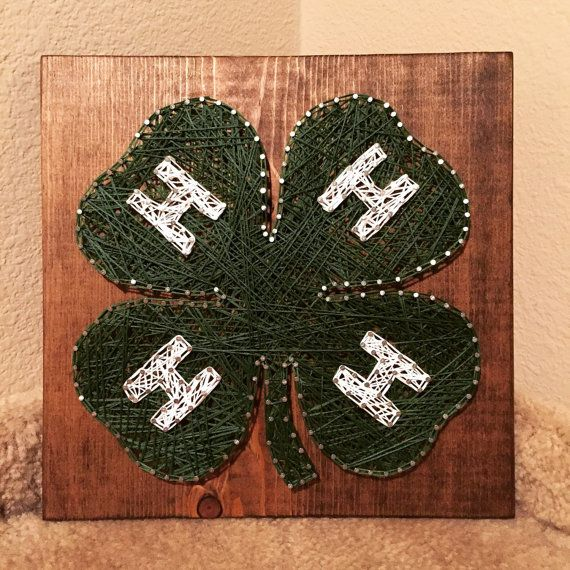 MADE TO ORDER - 4-H String Art