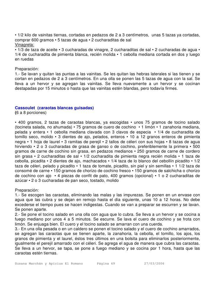 CASSOULET  parte I /   armando-scannone-recopilacin-de-recetas-69-728.jpg (728×1030)