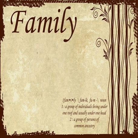 how to build a family tree on paper