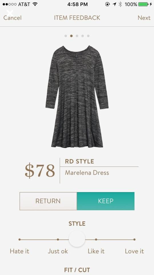 Jennifer- Would LOVE this dress!! (or a solid black one in similar cut/style) Stitch Fix RD Style Marelena Dress stitchfix.com/referral/8055861