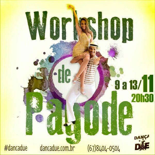 WORKSHOP DE PAGODE  DANÇA, MÚSICA, BRAZIL