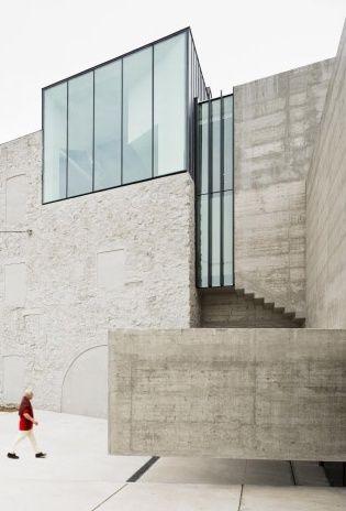 Cam Framis museum renovation by Spannis architect Jordi Badia-BAAS.