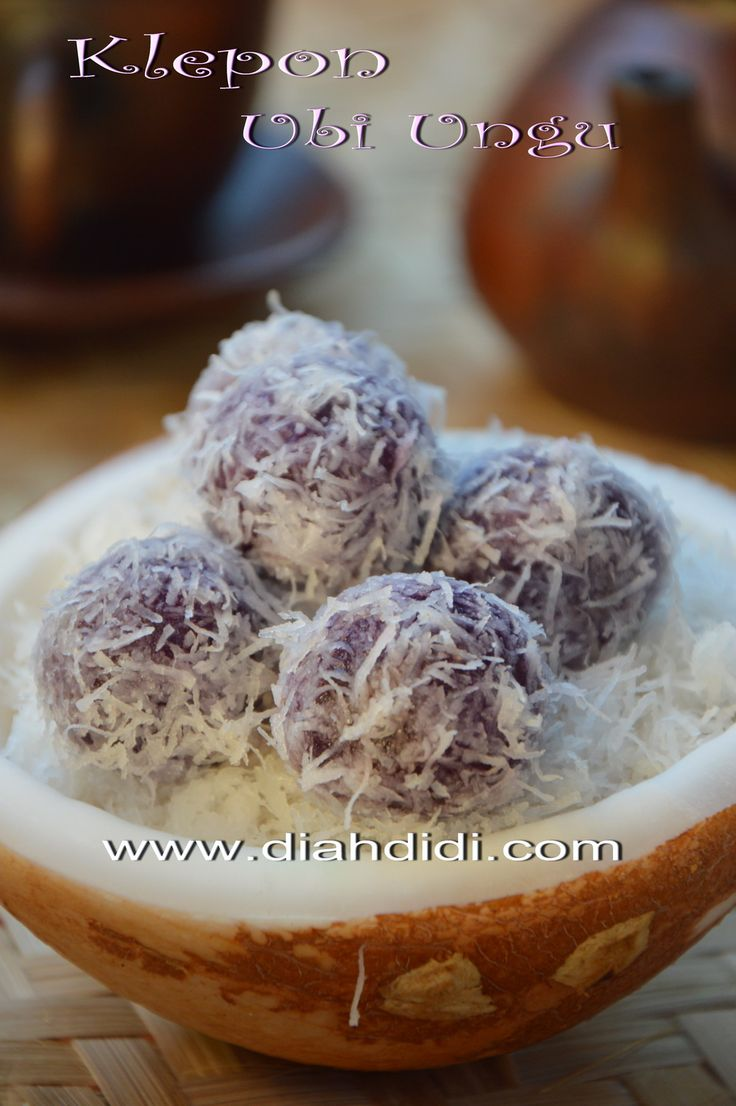 Diah Didi's Kitchen: Klepon Ubi Ungu