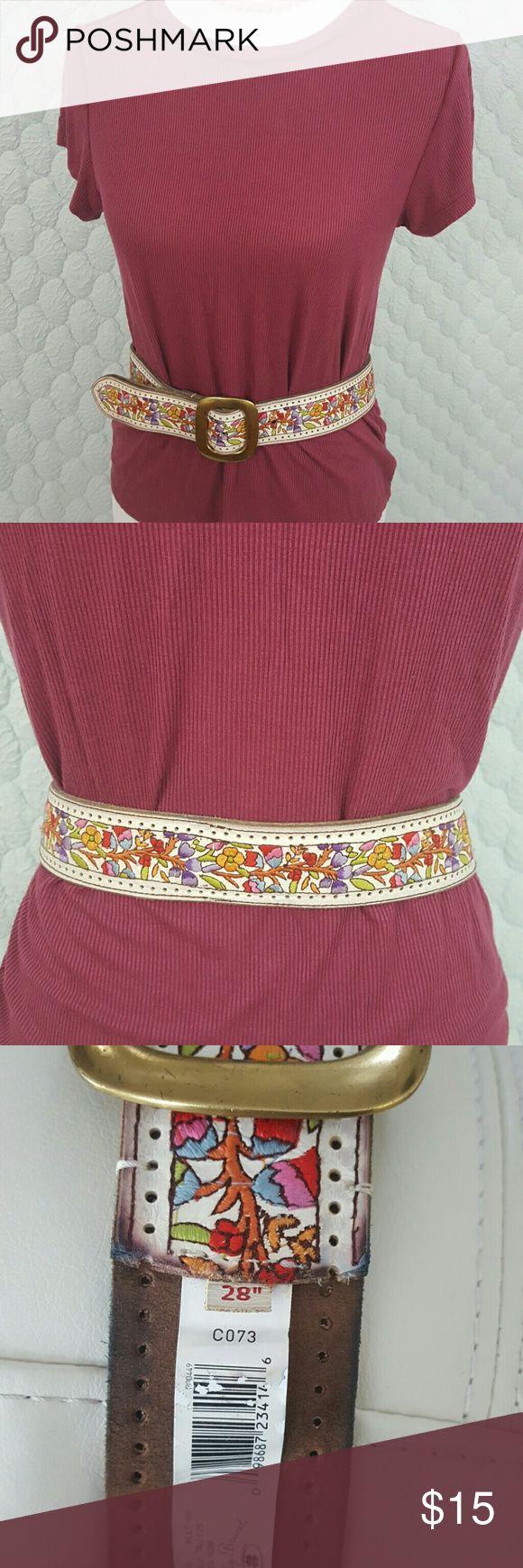 Lucky Brand belt Lycky Brand belt size 28. Super cute, price reflects use. Lucky Brand Accessories Belts