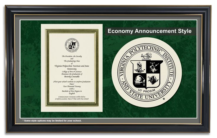 Economy Announcement Style