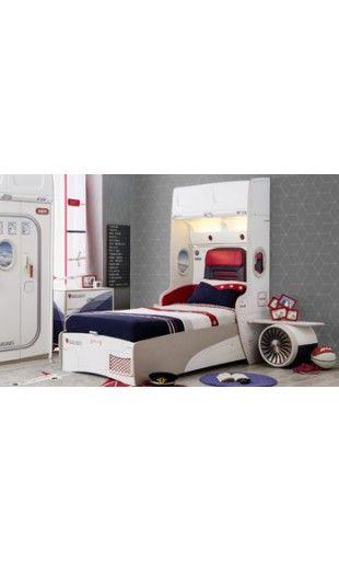 Cama canapé con armario First Class  de Cilekspain, dormitorios temáticos