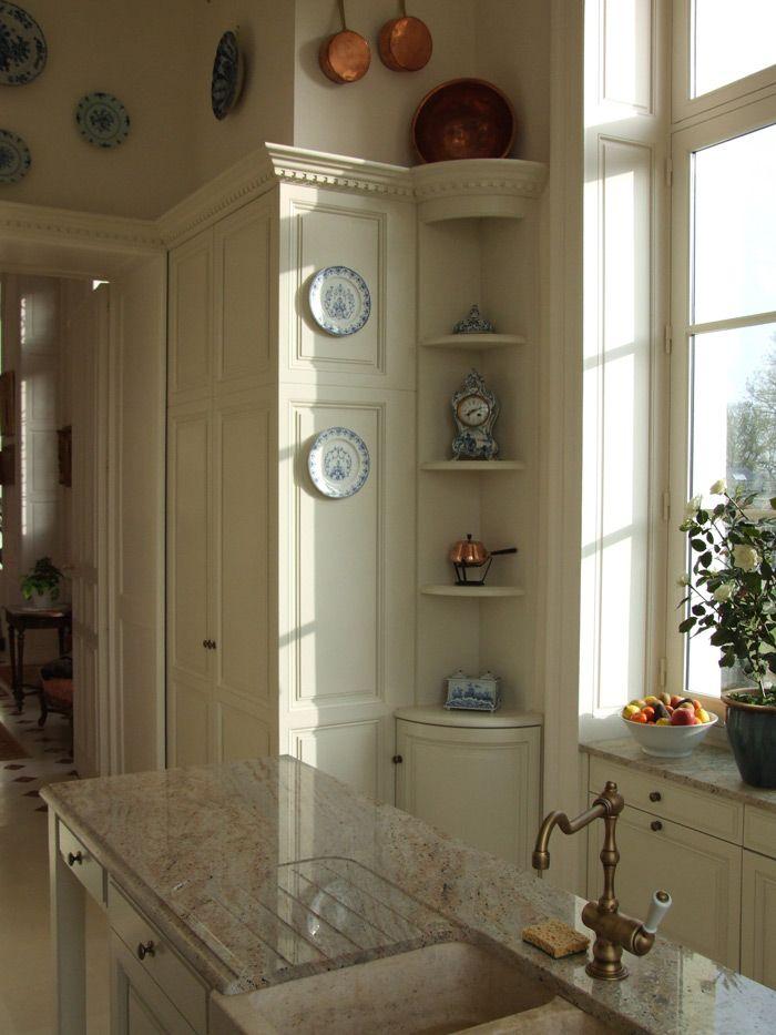 1000 images about les cuisines de manoirs ch teaux on - Cuisine design rotissoire ...