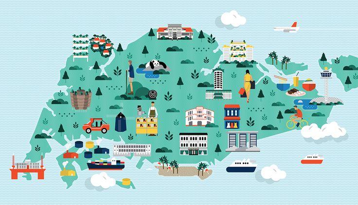 MONOCLE: SINGAPORE MAP