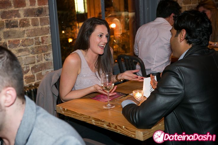 Speed Dating action from Islington.
